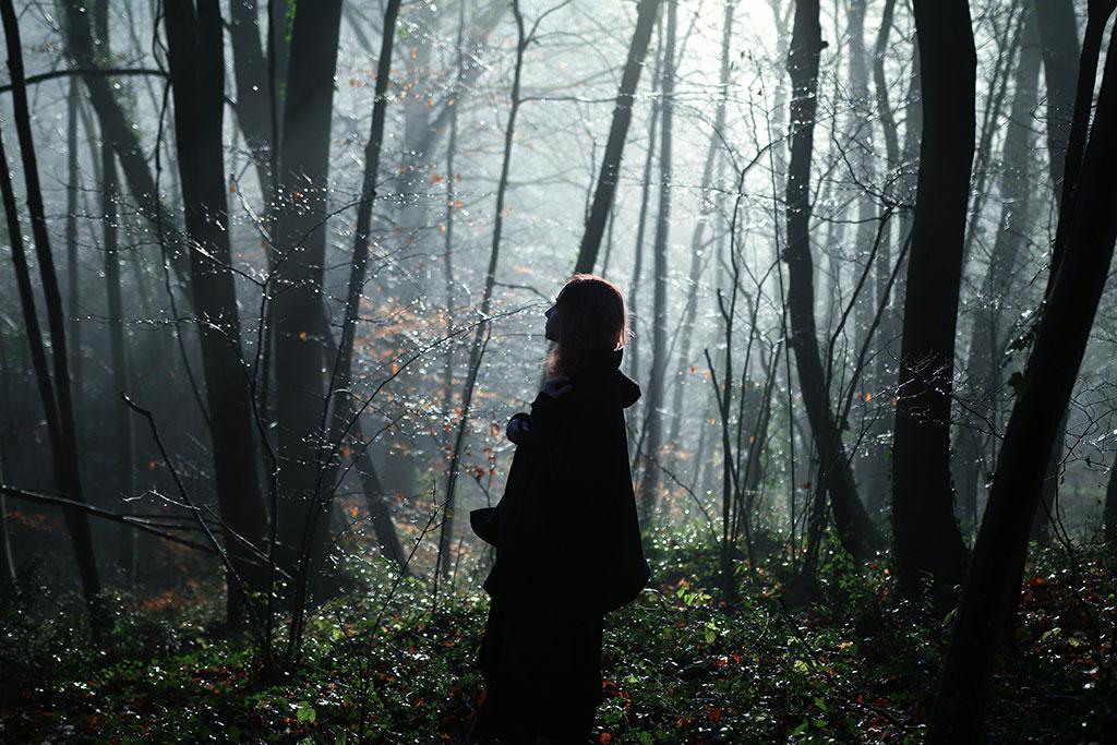 Autoportrait Forêt