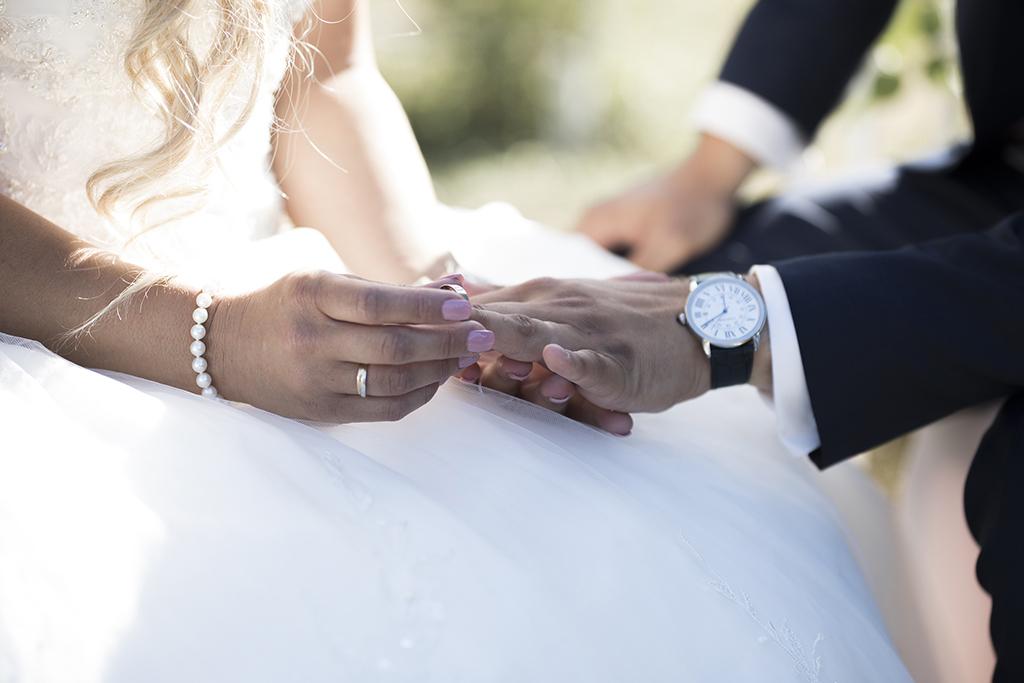 échange de bague mariage