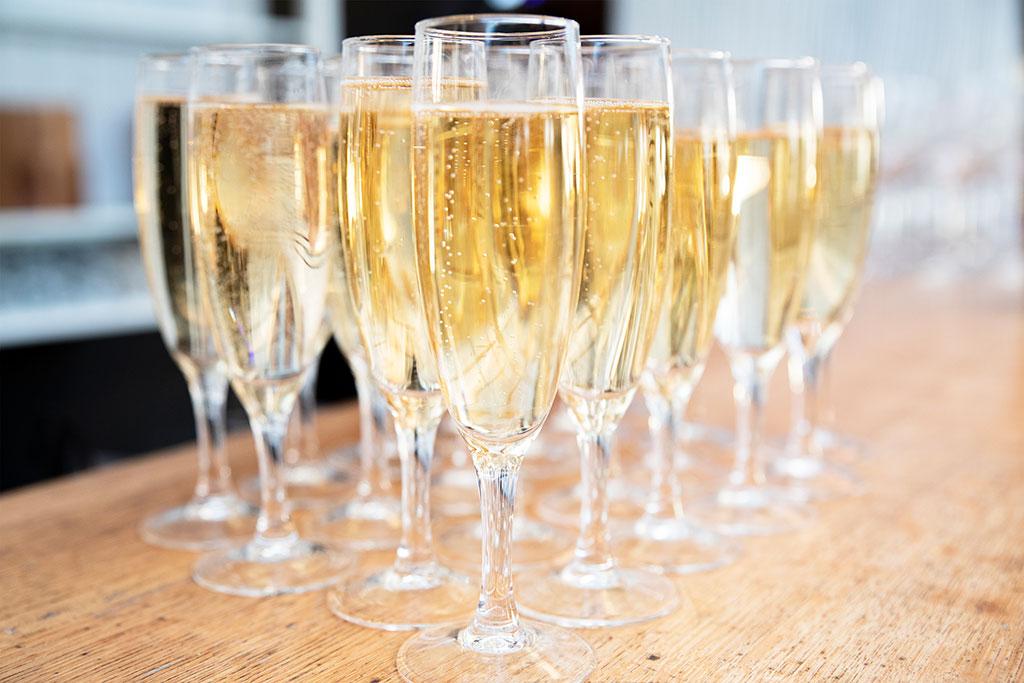 coupes de champagne mariage